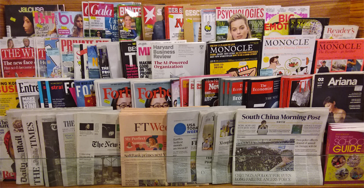 Magazines: people now get everything they need online | Photo: Creative Commons