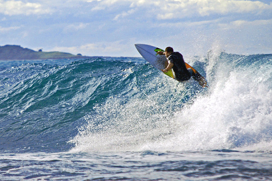 Nicholas Power: surfer and academic