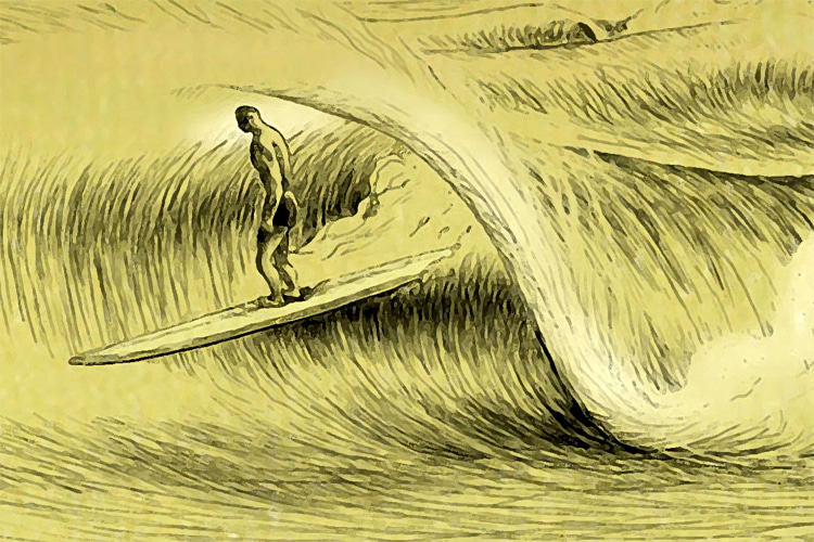Nick Gabaldón: the first documented black surfer in the United States | Photo: Santa Monica Conservancy