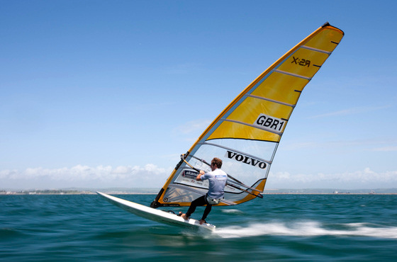 Nick Dempsey: the windsurfing valve in Volvo