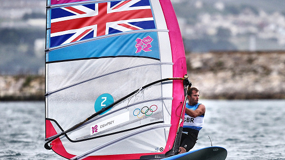 Nick Dempsey: the British windsurfer-kitesurfer