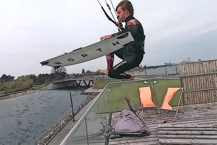 Nick Jacobsen: the Danish daredevil is back with creative moves