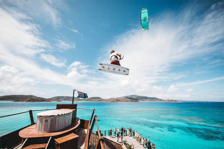 Nick Jacobsen: he jumped off Necker Island