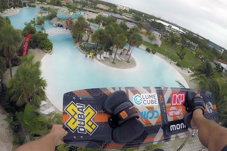 Nick Jacobsen: jumping off a hotel roof in the Bahamas