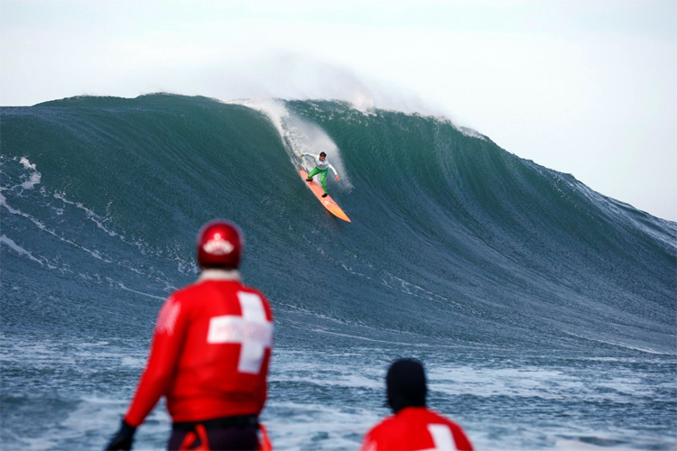 Nic Lamb: he won the Titans of Mavericks with steep drops | Photo: Candas/Red Bull