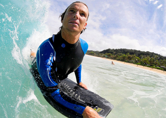 Nicolas Capdeville: the veteran of European bodyboarding