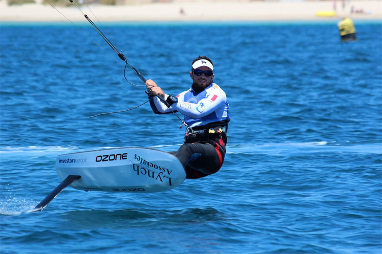Nico Parlier: the 2016 Hydrofoil Pro Tour champion