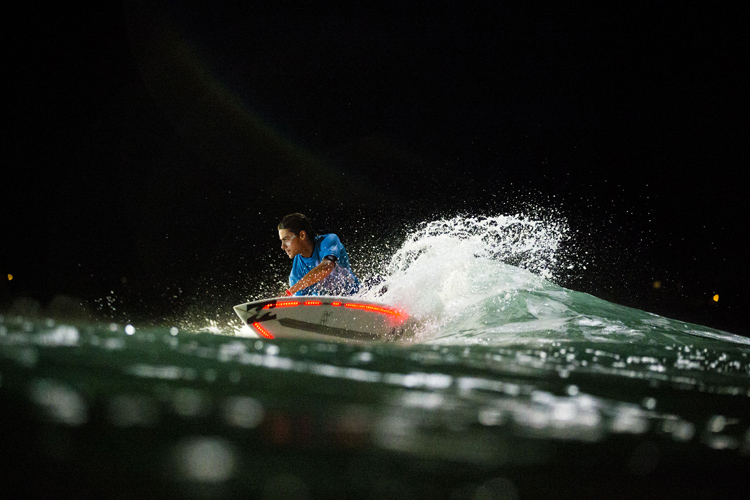 Night surfing will light up Figueira da Foz in 2019