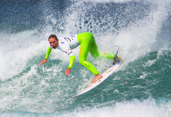 Nikki Van Dijk: green light for the 2014 ASP World Tour