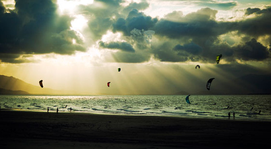 Nitro City: the Gulf of Panama is for kiteboarders