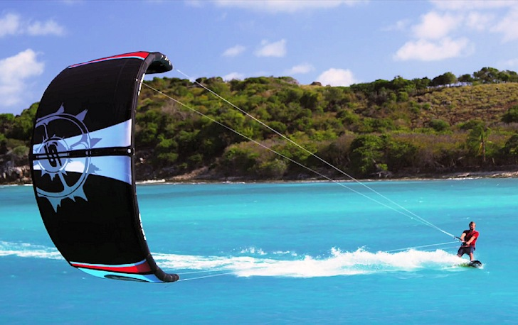 2015 Fuel kite: powered by the new Nitrous bridle system