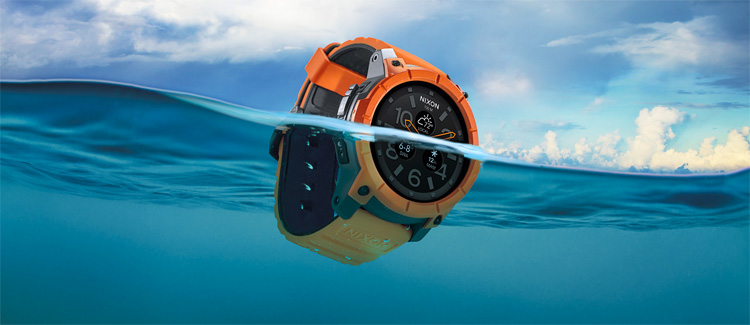Nixon The Mission: the world's first surf smartwatch