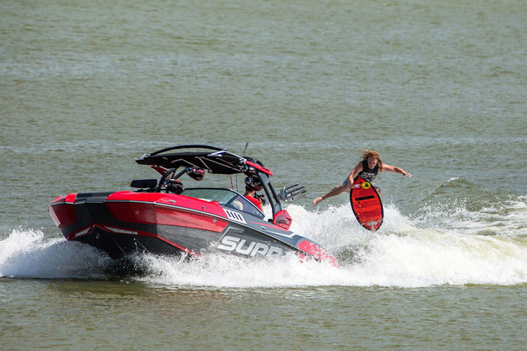 Noah Flegel: he beat his brother Keenan in Texas | Photo: Zach Stovall/Supra Boats PWT