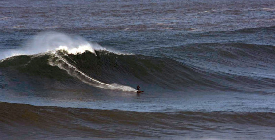 Nazare: a big wave event would fit nicely