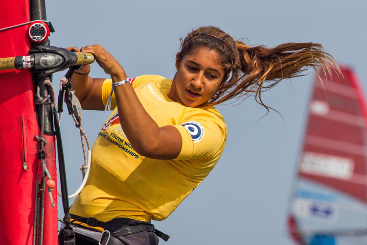 Noy Drihan: the queen of RS:X youth windsurfing | Photo: World Sailing