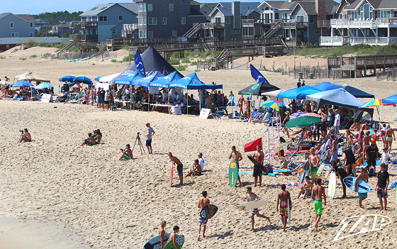 OBX Skim Jam: pro contest area looks good