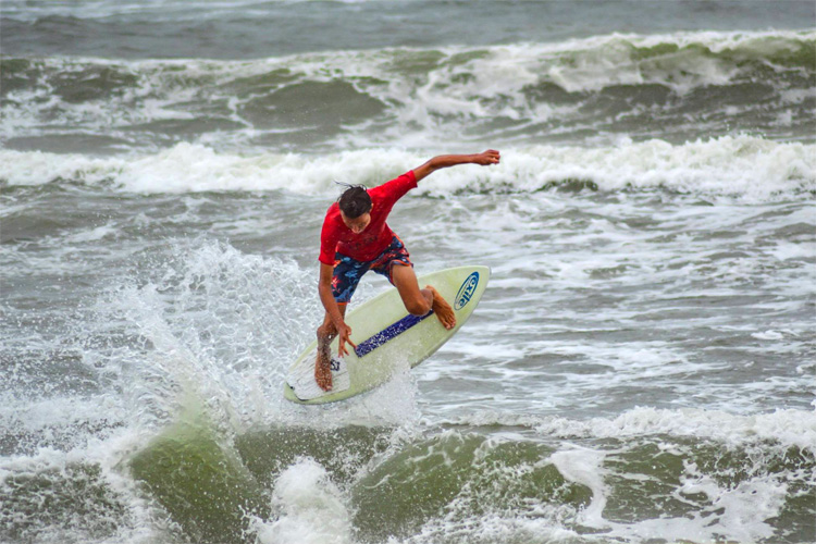 2018 Outer Banks Skim Jam: the iconic event had all sorts of weather | Photo: Fernandez/Skim USA