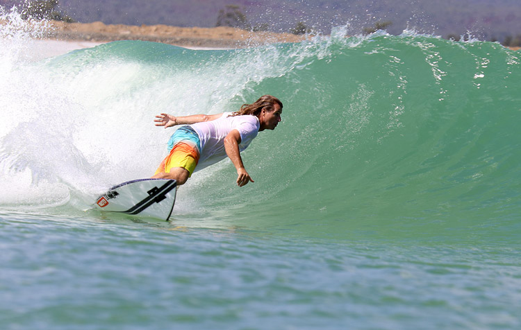 Mark Occhilupo: he is a minority shareholder of Surf Lakes | Photo: Surf Lakes