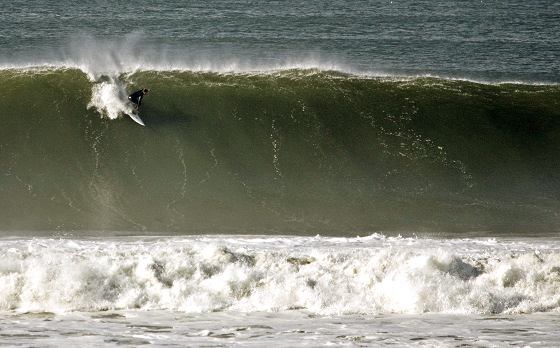 Ocean Beach: hard take-offs | Photo: Stoke Report/Vonstanger