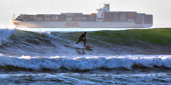 Ocean Beach: PWC is banned, just like cargo ships