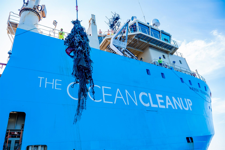 The Ocean Cleanup: 40 percent of the collected debris are fishing nets | Photo: The Ocean Cleanup