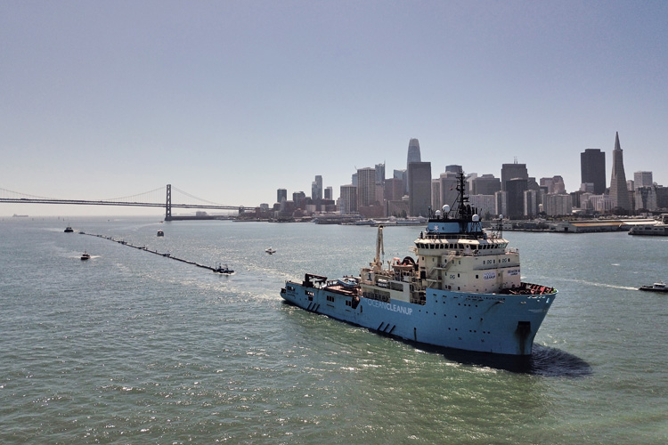 Ocean Cleanup: 600-meter long barrier is not its way to the Great Pacific Garbage Patch | Photo: Ocean Cleanup
