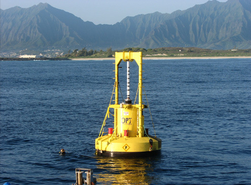 Ocean Power Buoy: Hawaii is pumping wave energy