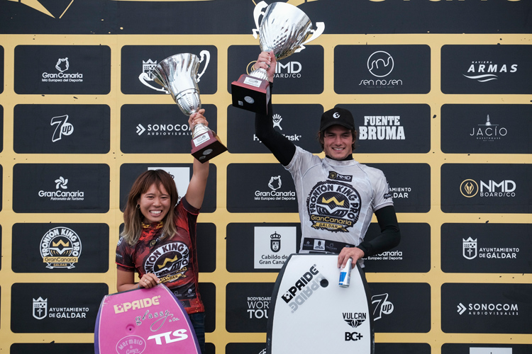 Sari Ohara and Tristan Roberts: the ruled the 2019 APB World Tour season | Photo: APB