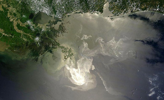 Deepwater Horizon: the beautiful effect of the oil spill