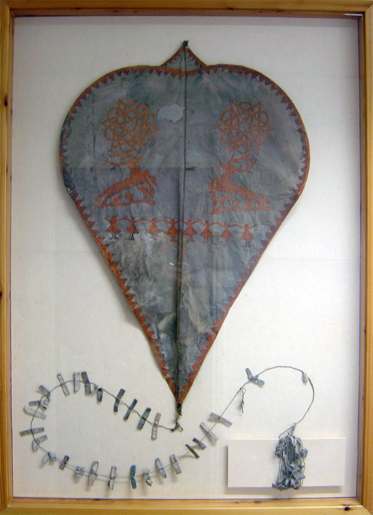 The oldest known kite: it could have been built in 1773