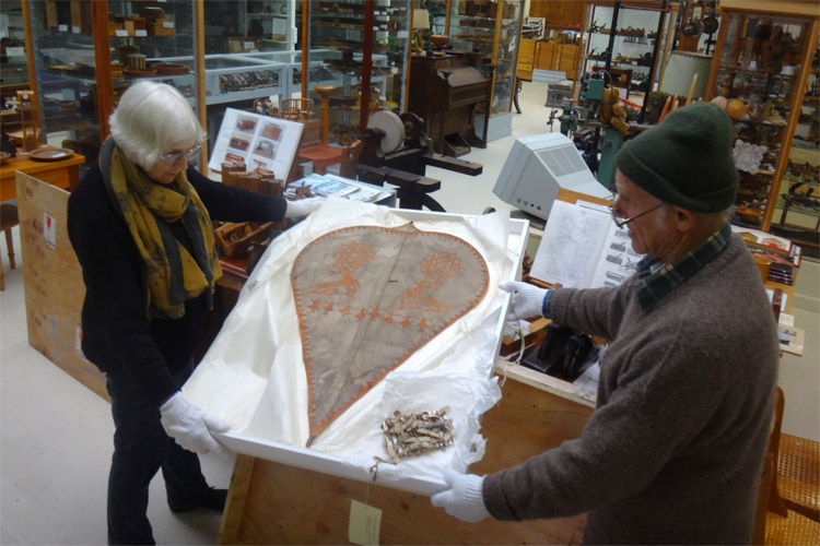 The world's oldest known kite: it will be displayed in the Lynn Woodworking Museum