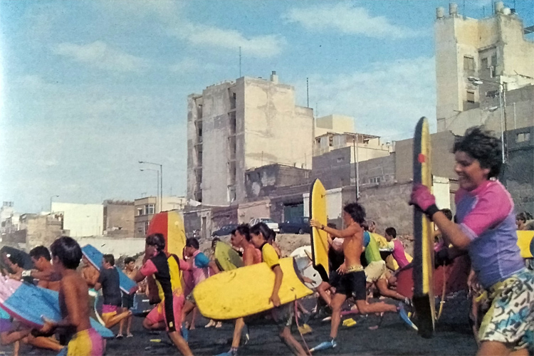 Bodyboarding: in the beginning it was all about having fun | Photo: Estupiñán