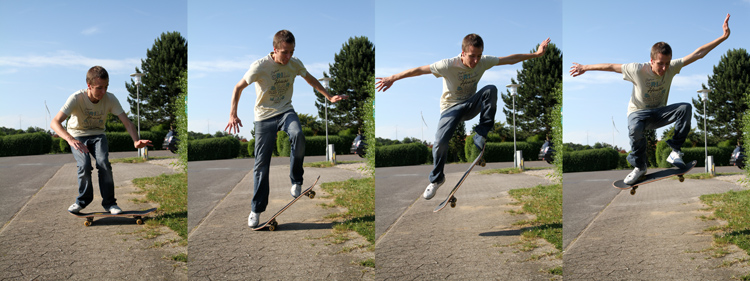 The ollie: a skateboarding trick that will help you get airborne in surfing | Photo: TobiasK/Creative Commons