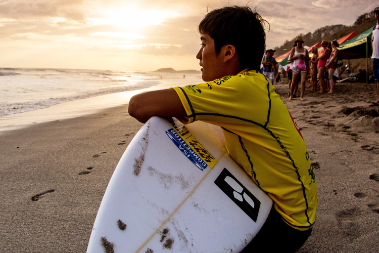 Surfing: with eyes on the Olympic Games | Photo: Nelly/ISA