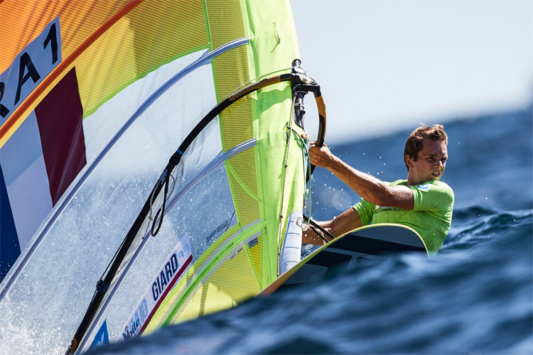 Windsurfing: an Olympic sport since 1984 | Photo: Hajduk/RS:X