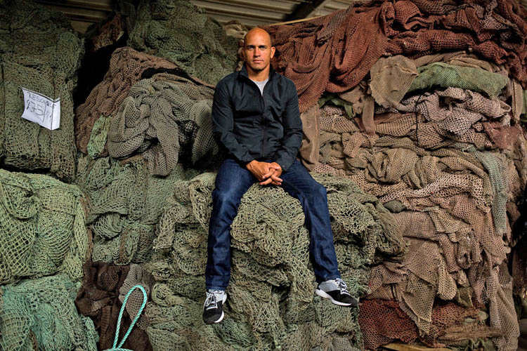 Kelly Slater: Outerknown uses fishing nets to produce surf wear | Photo: Outerknown