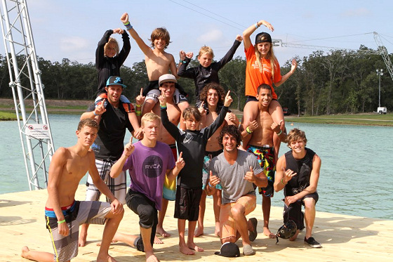 Orlando Watersports Complex: wakeboard victory photo