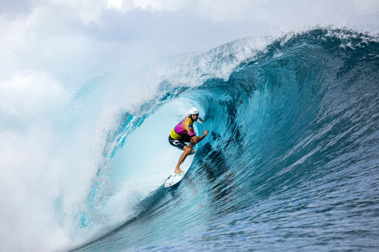 Owen Wright: he won in Teahupoo for the first time | Photo: Cestari/WSL