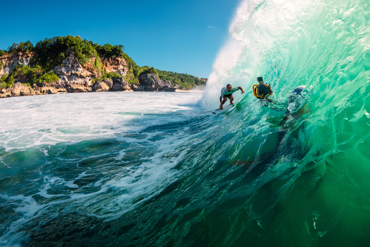 Padang Padang: one of the best waves in the world | Photo: Shutterstock