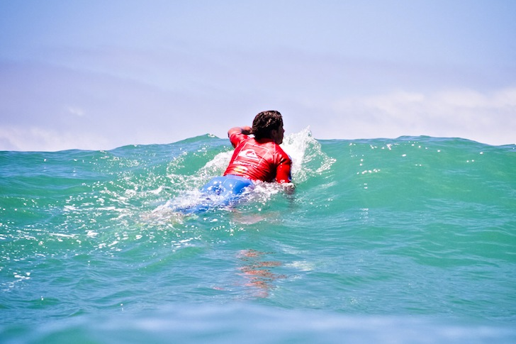 Surfing: stop smoking and increase paddle power