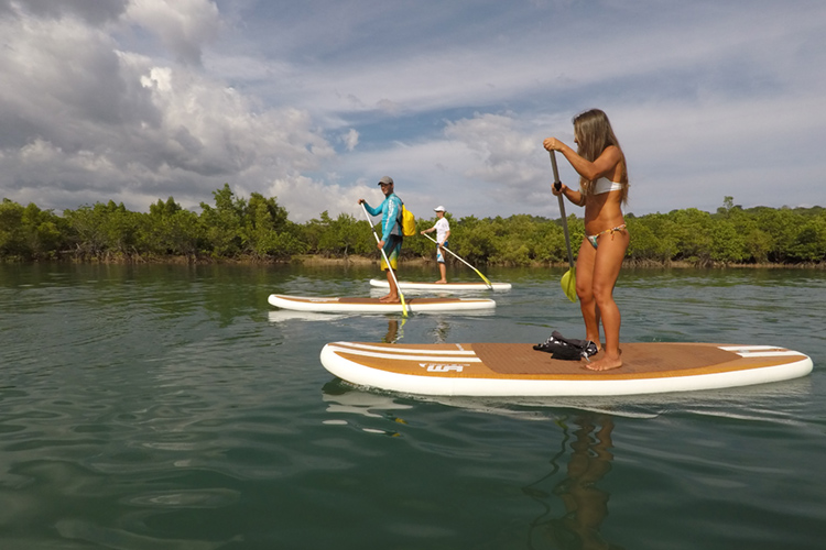 Bulalacao: SUP is always an alternative to kiteboarding | Photo: Amansinaya Resort