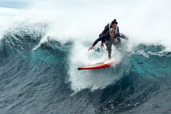 Pascale Honore: surfing is for all