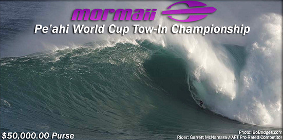 Pe'ahi World Cup Tow-In Surfing Championship