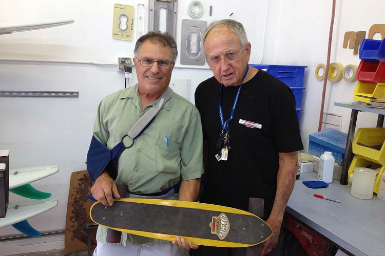 Sal Peluso and Larry Gordon: the former skateboarder and his master shaper title=