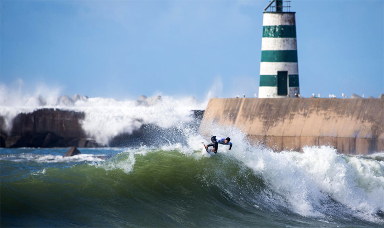 Peniche: home of the Rip Curl Pro Portugal | Photo: Poullenot/WSL