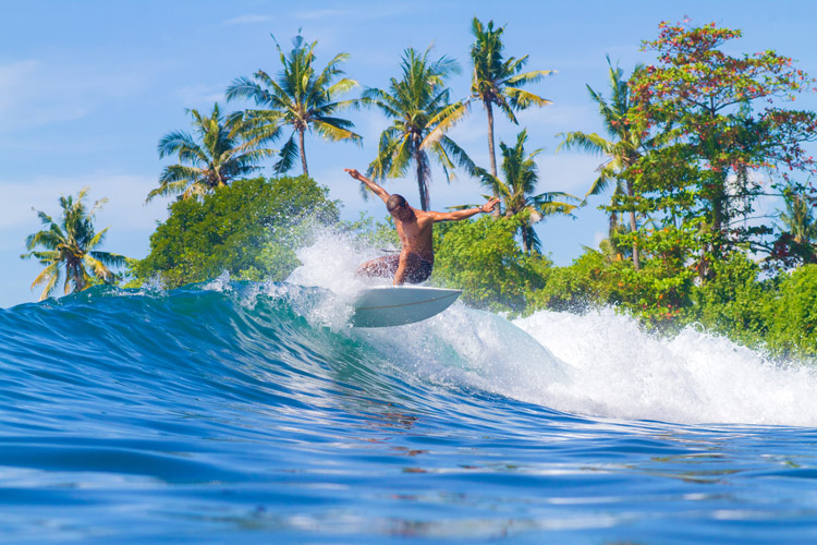 Surf spots: perfection isn't a dream | Photo: Shutterstock