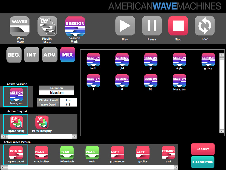 Perfect Swell: the AWM software allows you to generate any type of wave | Illustration: AWM