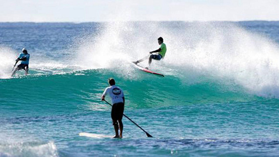 StandUp Paddle: SUPer surfers