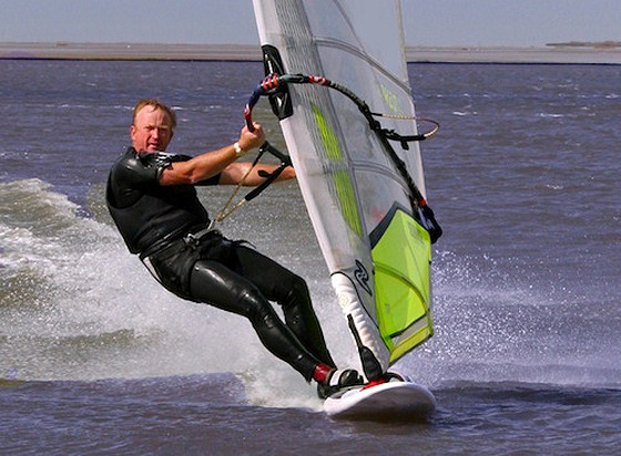 Pete Davies: a passion for speed windsurfing