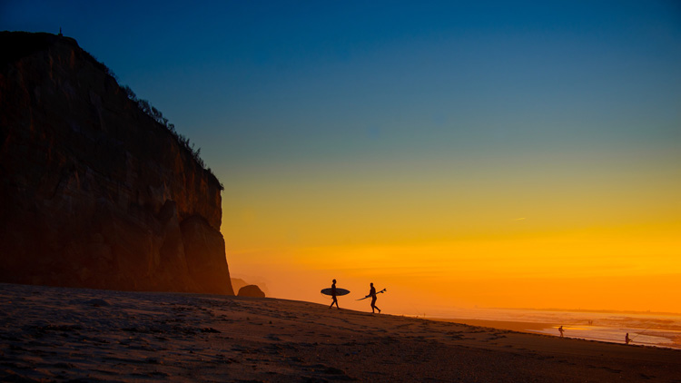 Peter Wilson: Portugal Sunset